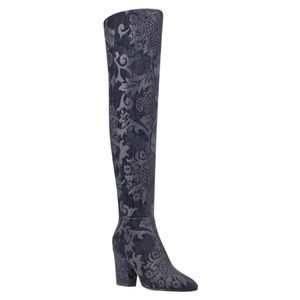 Nine West Siventa Over The Knee Boot Size 10